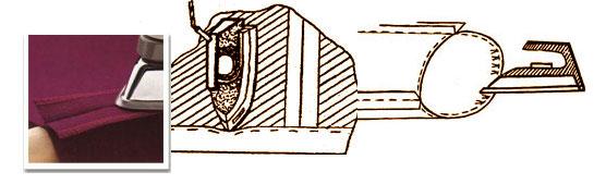 Как утюжить швы одежды