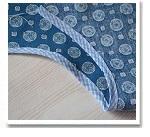 Обработка горловины или проймы платья бейкой